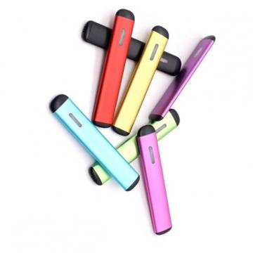China Vape Factory OEM Logo 0.5ml Empty Oval Cbd Disposable Vape Pen with 210 mAh