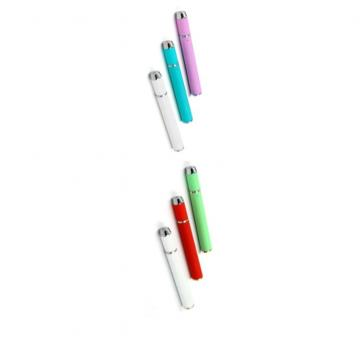 Gold Empty Disposable Vape Pen With Ceramic Coil For 0.5ml / 1.0ml Capacity Used For CBD Thick Extracts Oil